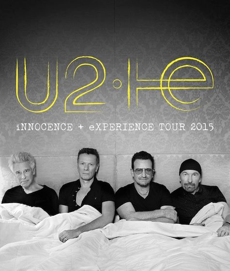 Awkward doesn't even begin to describe the artwork to U2's new tour poster