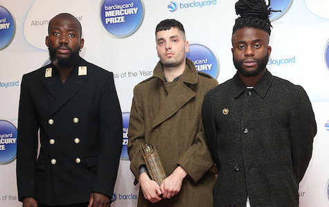 Young Fathers look about as pleased to win the Mercury Prize as I would be